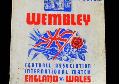 England v Wales 13.04.1940 0-1