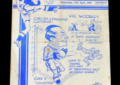 Chelsea v Arsenal 17.04.1940