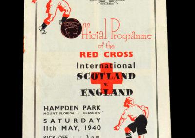 Scotland v England 11.05.1940 1-1