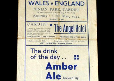 Wales v England 08.05.1943 1-1