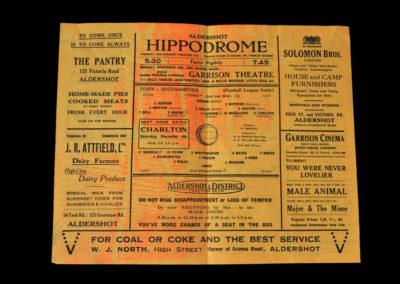 Aldershot v Southampton 27.11.1943 10-1 Lawton 6.