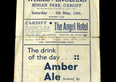 Wales v England 06.05.1944 0-2