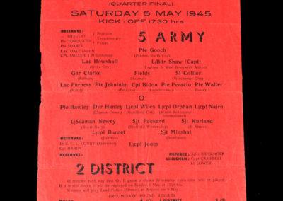 5 Army v 2 District 05.05.1945
