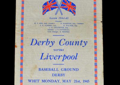 Derby v Liverpool 21.05.1945
