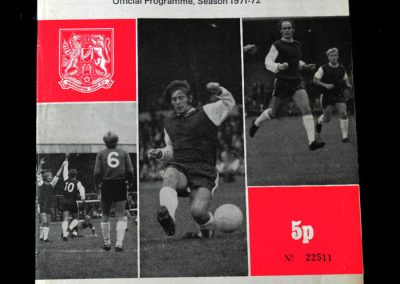 Hereford v Northampton 14.12.1971 Replay 2-2 after extra time