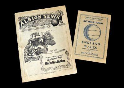 England v Wales 20.10.1945