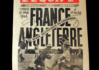 France v England 19.05.1946