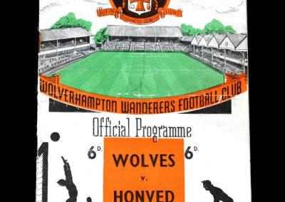 Wolves v Honved 13.12.1954
