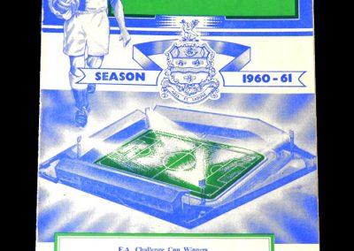 Blackburn v Spurs 27.08.1960