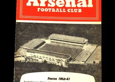 Arsenal v Spurs 10.09.1960