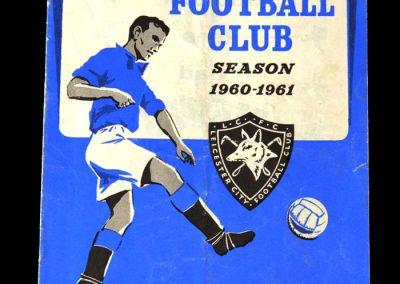 Leicester v Spurs 17.09.1960