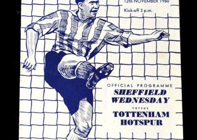 Sheff Wed v Spurs 12.11.1960
