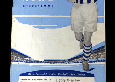 West Brom v Spurs 26.11.1960