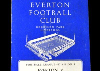 Everton v Spurs 17.12.1960