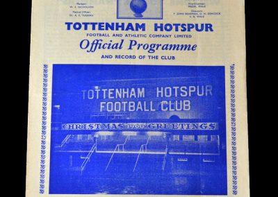 Spurs v West Ham 24.12.1960