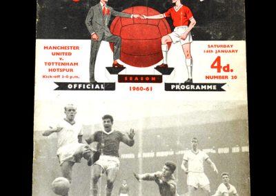 Man Utd v Spurs 16.01.1961