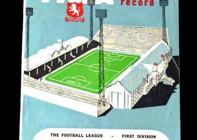 Aston Villa v Spurs 11.02.1961