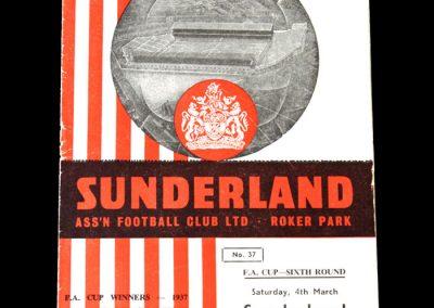 Sunderland v Spurs 04.03.1961
