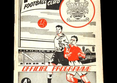 Fulham v Spurs 25.03.1961