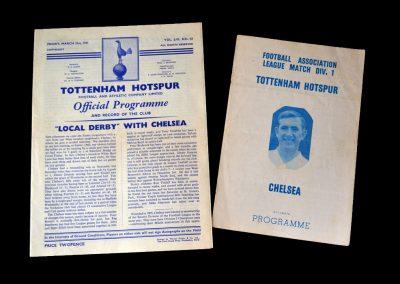Spurs v Chelsea 31.03.1961