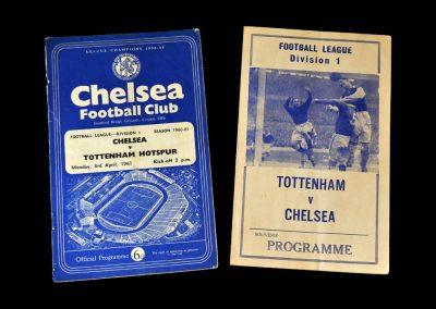 Chelsea v Spurs 03.04.1961