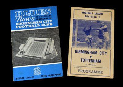 Birmingham v Spurs 08.04.1961