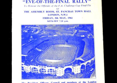 Eve of the Final Rally 05.05.1961