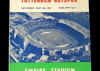 Spurs v Leicester 06.05.1961 - FA Cup Final