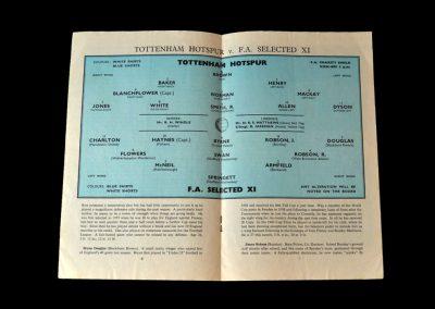Spurs v FA 11 12.08.1961 - Charity Shield