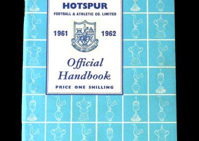 Spurs Season 1961/62 Handbook