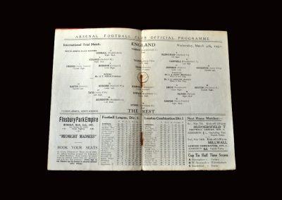 England v The Rest 04.03.1931 (England Trial)