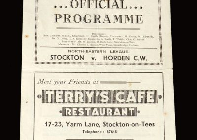Stockton v Horden 14.09.1946