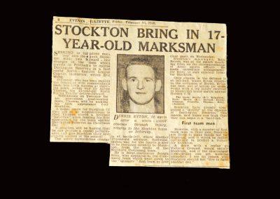 Stockton press cutting 23.02.1949