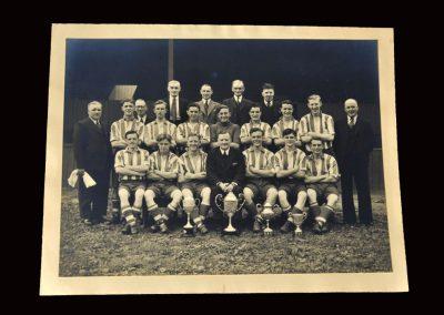 South Bank v Bishop Auckland 14.01.1950 - Team Photo