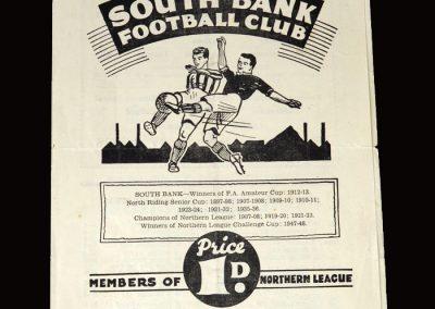 South Bank v Penrith 11.03.1950