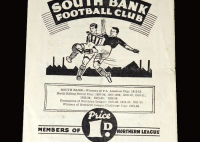 South Bank v Tow Law 15.04.1950