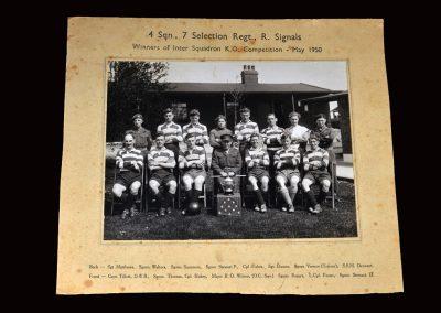 Army Team Photo May 1950