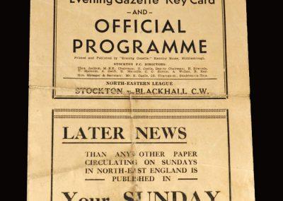 Stockton v Blackhall 28.03.1953