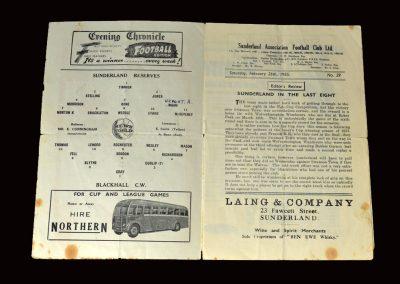 Sunderland Res v Blackhall 26.02.1955