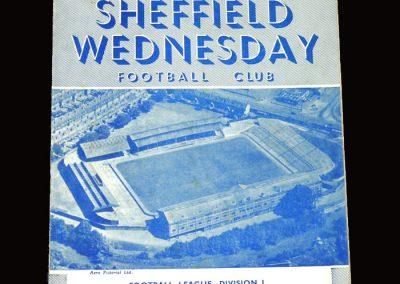 Sheff Wed v Cardiff 02.04.1955 1-1