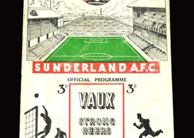 Sunderland v Leicester 02.04.1955 1-1