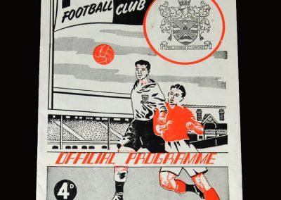 Fulham v Middlesbrough 02.04.1955 1-2