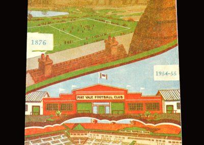 Port Vale v Bury 02.04.1955 1-0