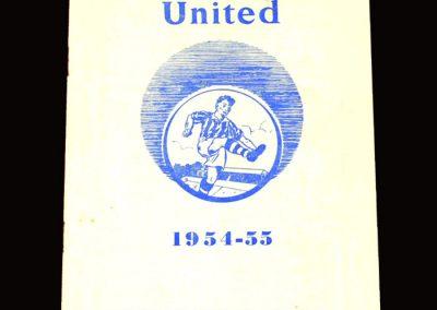 Colchester v Leyton Orient 02.04.1955 2-2