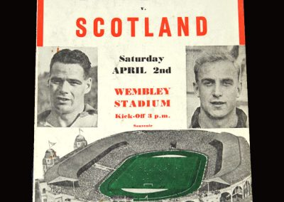England v Scotland 02.04.1955 (pirate)