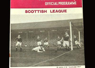 Hearts v Clyde 02.04.1955 3-0