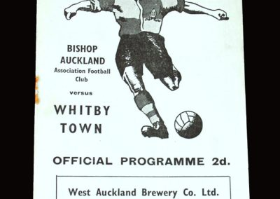 Bishop Auckland v Whitby 02.04.1955