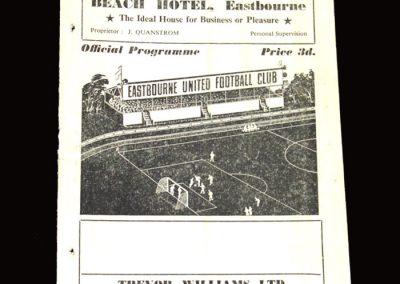 Eastbourne v Bangor 02.04.1955