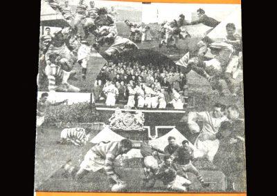 Hunslet v Barrow (Rugby League) 02.04.1955