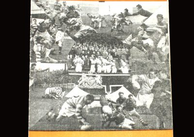 Featherstone v Workington (Rugby League) 02.04.1955
